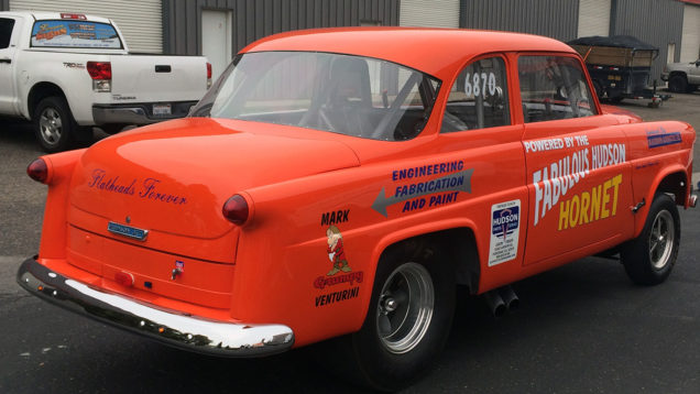 Hudson Hornet Vehicle Graphics and Lettering