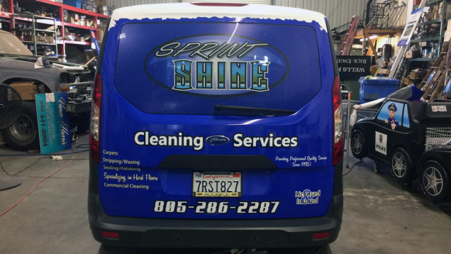 Sprint Shine Cleaning Partial Wrap