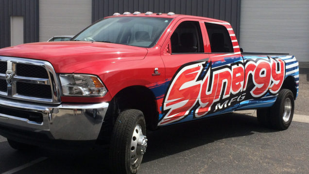 Synergy Partial Vehicle Wraps
