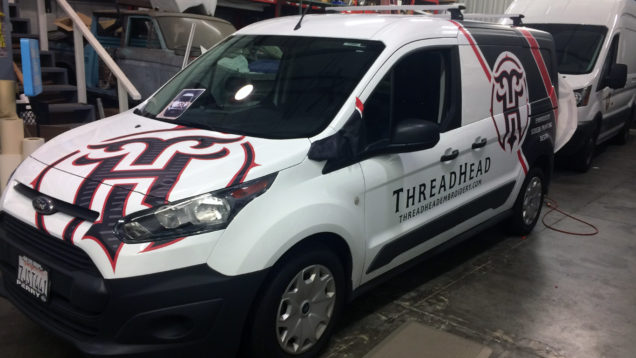 Thread Head Van Graphics