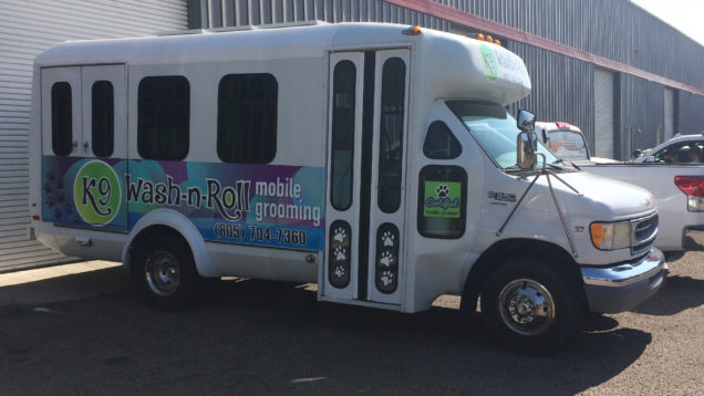Wash-n-Roll Partial Bus Wrap
