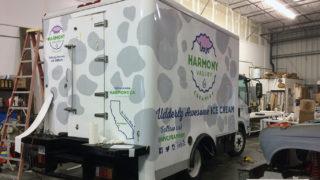 Harmony Valley Creamery Truck Wrap