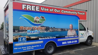 Bear Valley Realty Box Truck Wrap