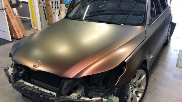 BMW Color Shift Wrap