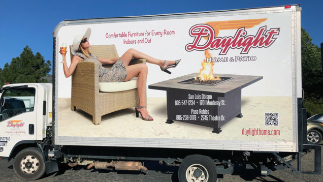 Box Truck Wrap for Daylight Home and Patio