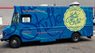 Food Truck Wrap for Haute Skillet