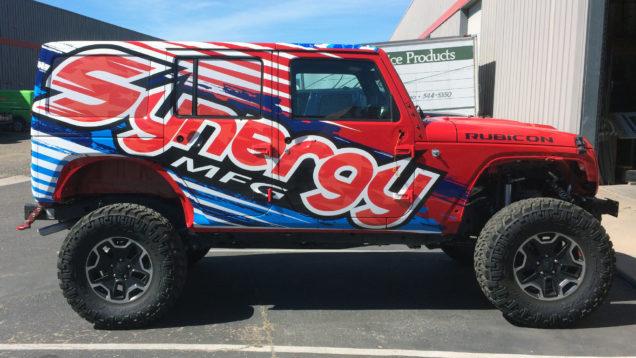 Synergy Jeep Wraps