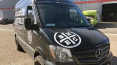 Barrelhouse Brew Van Lettering