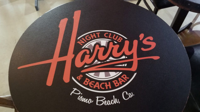 Harrys Night Club Table Wraps