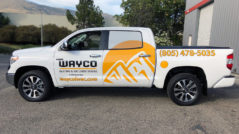 Wayco Vehicle Lettering