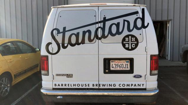 BarrelHouse Brewing Vinyl Lettering