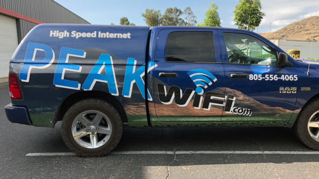 Peak Wifi Partial Wrap