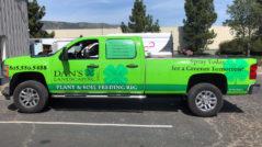 Dan's Landscaping Truck Wrap