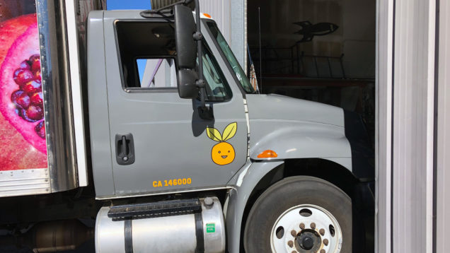Food Bank Truck Wrap