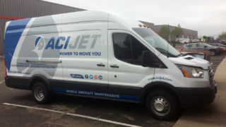 Partial Van Wrap for ACI Jet