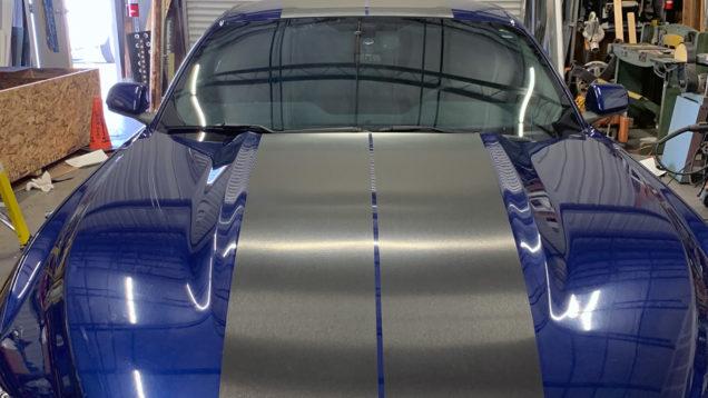 Custom Mustang Rally Stripes