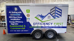 Efficiency First Trailer Wrap