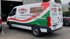 Giuseppe's Partial Van Wrap