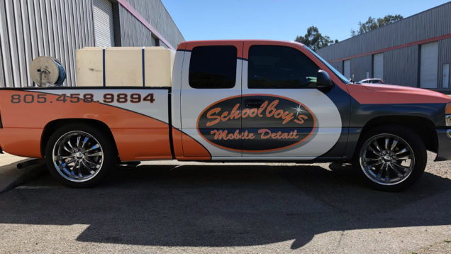 Schoolboys Mobile Detail Wrap